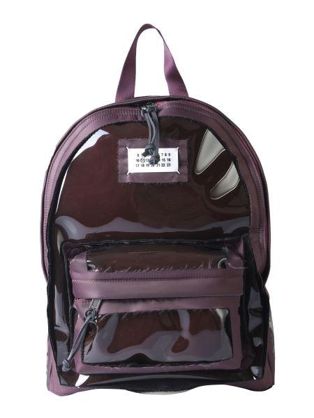 Maison Margiela - Pvc Backpack With Cut Details
