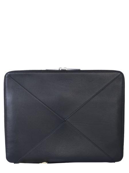 Bottega Veneta - Large Leather Document Holder With Weaving