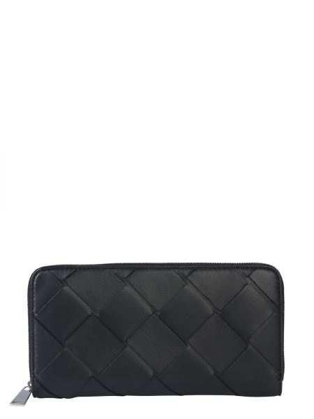 Bottega Veneta - Zip-up Leather Wallet