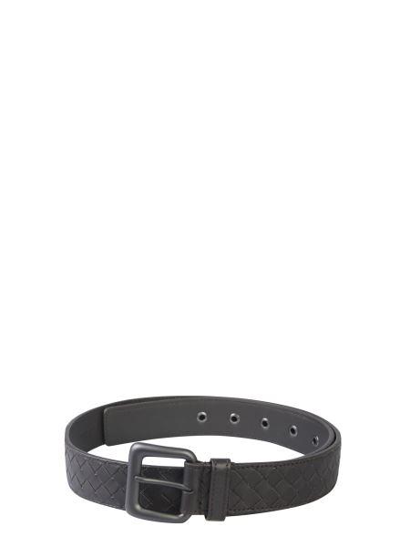 Bottega Veneta - Braided Leather Belt With Buckle