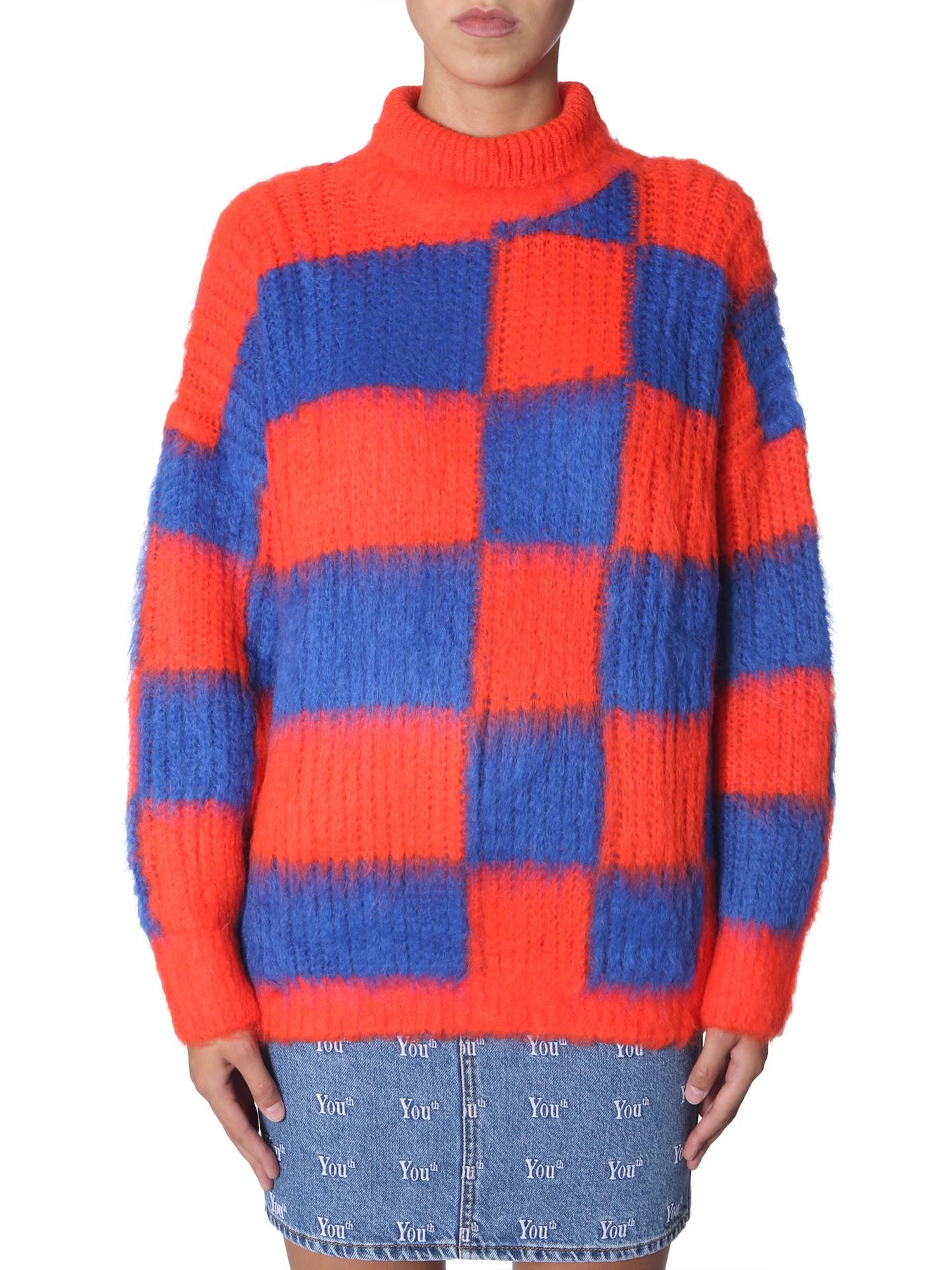 Msgm crew neck sweater - msgm - Modalova