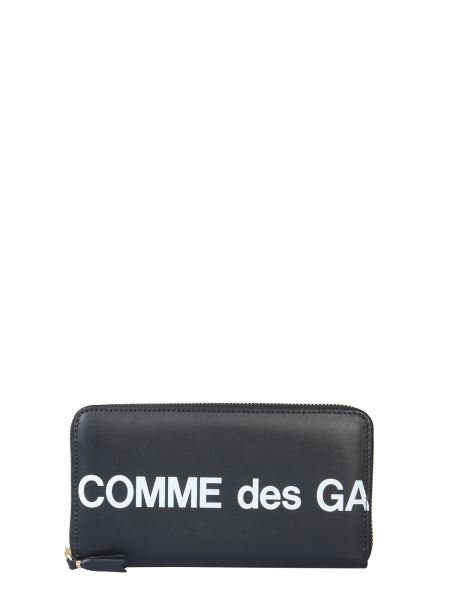 Comme Des Garcons Wallet - Zip Leather Wallet