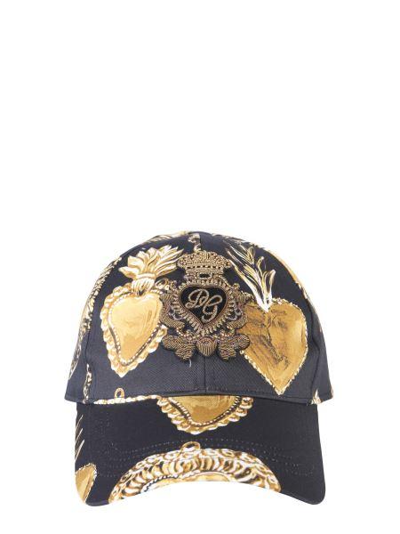 Dolce & Gabbana - Cappello Da Baseball In Misto Cotone