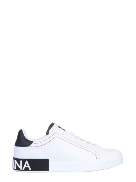 Dolce & Gabbana - Portofino Tasseled Calfskin Sneakers