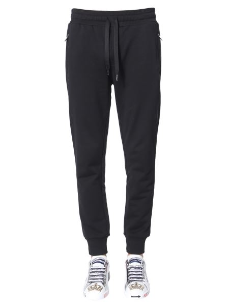Dolce & Gabbana - Jersey Jogging Pants With Patch