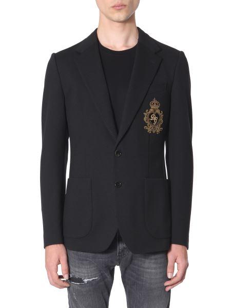 Dolce & Gabbana - Jersey Jacket With Patch
