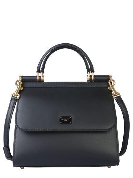 Dolce & Gabbana - Mini Sicily 58 Leather Bag