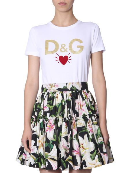 Dolce & Gabbana - T-shirt In Jersey Di Cotone