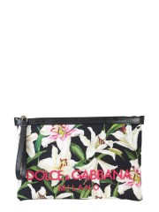 DOLCE & GABBANA - POCHETTE IN CANVAS