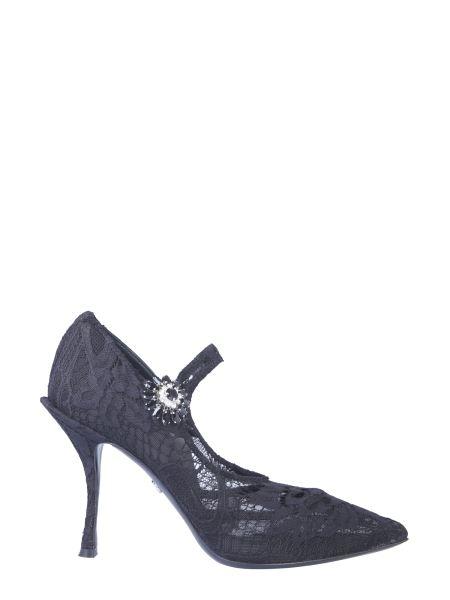 Dolce & Gabbana - Mary Jane Lace Décolleté