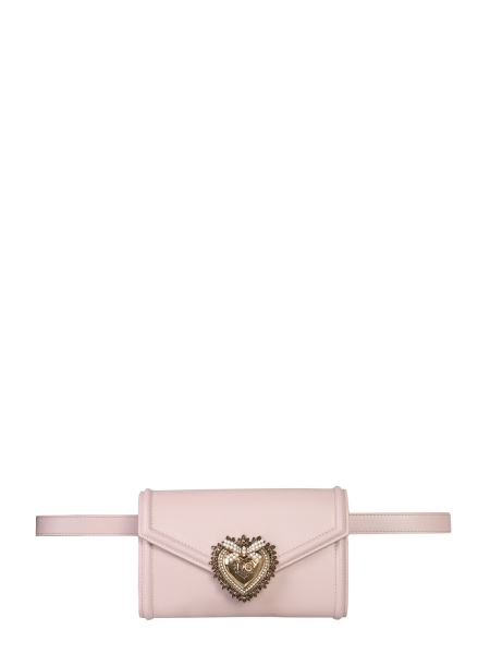 Dolce & Gabbana - Devotion Smooth Leather Pouch