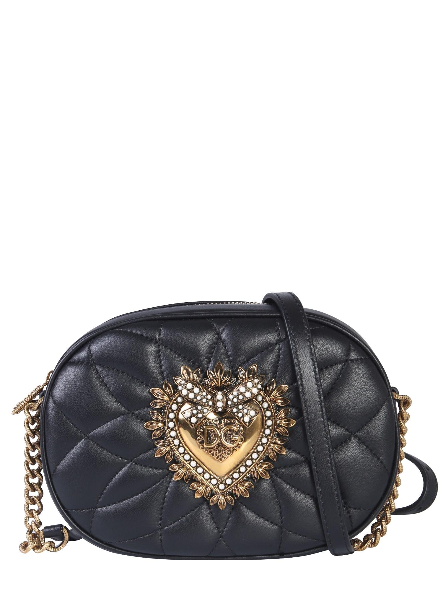 Bolsa Devotion em pele Dolce Gabbana