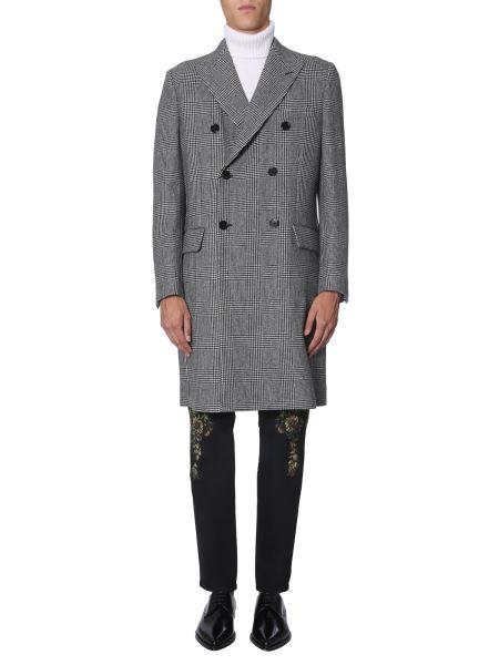 Dolce & Gabbana - Prince Of Wales Wool Coat