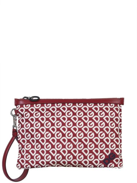 Dolce & Gabbana - Nylon Clutch With Logo