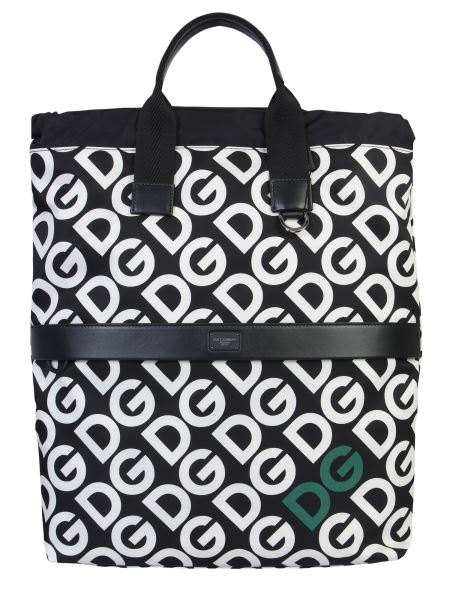 Dolce & Gabbana - Dg Logo Printed Nylon Backpack