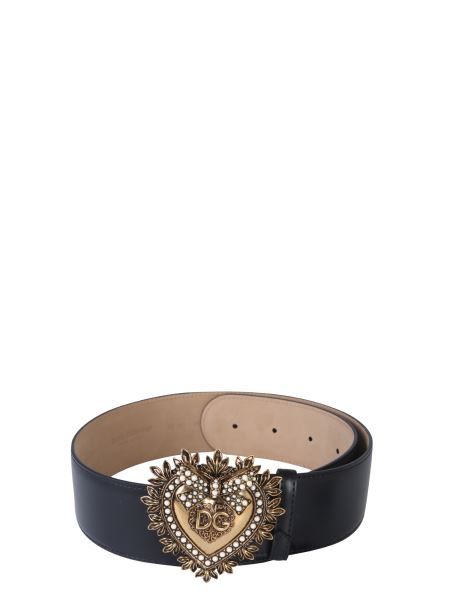 Dolce & Gabbana - Devotion Leather Belt