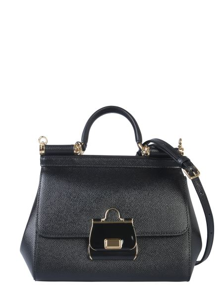 Dolce & Gabbana - Medium Sicily Leather Bag