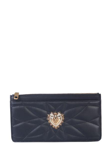 Dolce & Gabbana - Large Devotion Leather Card Holder