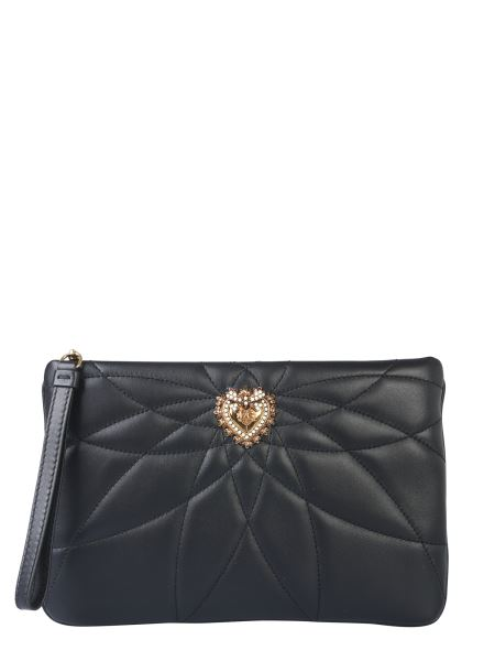Dolce & Gabbana - Medium Quilted Nappa Devotion Pouch