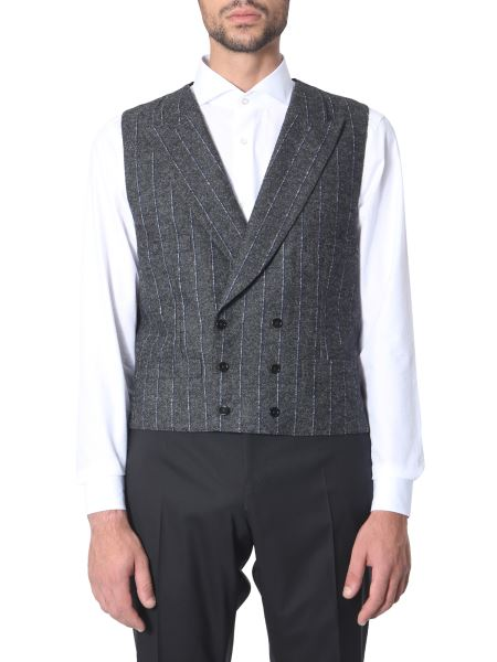 Dolce & Gabbana - Double-chest Alpaca Vest