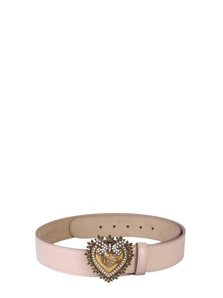 Dolce & Gabbana - Devotion Leather Belt
