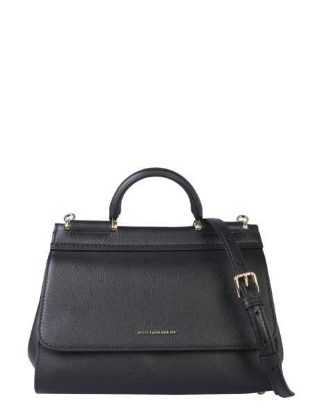 Dolce & Gabbana - Small Sicily Leather Bag
