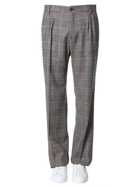 Dolce & Gabbana - Prince Of Wales Stretch Wool Pants