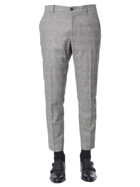 Dolce & Gabbana - Prince Of Wales Wool Pants