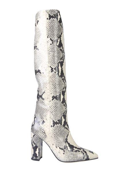 Paris Texas - Python Effect Leather Boot