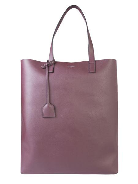 Saint Laurent - Soft Leather Shopping Bag