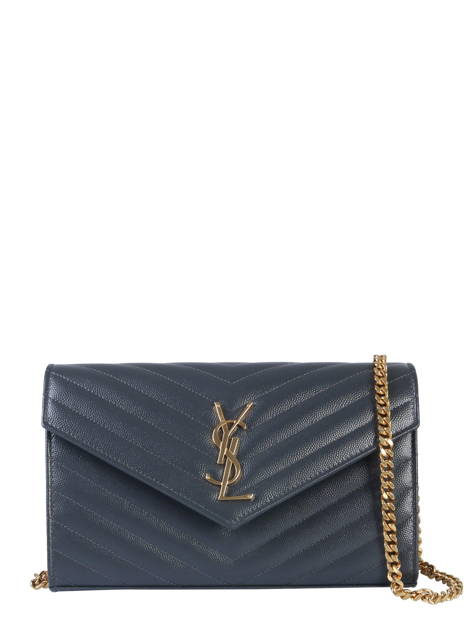 Bolsa Mini Monograma de pele Yves Saint Laurent