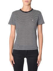 SAINT LAURENT - T-SHIRT A RIGHE