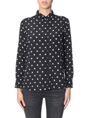 SAINT LAURENT - CAMICIA A POIS