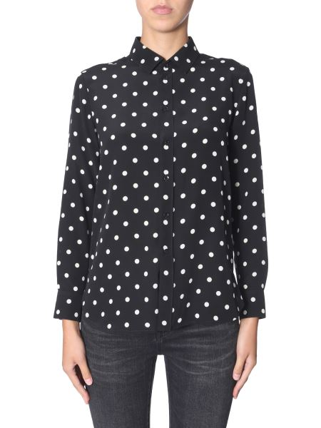 Saint Laurent - Polka Dot Silk Shirt