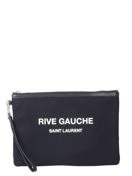 Saint Laurent - Rive Gauche Canvas Pouch