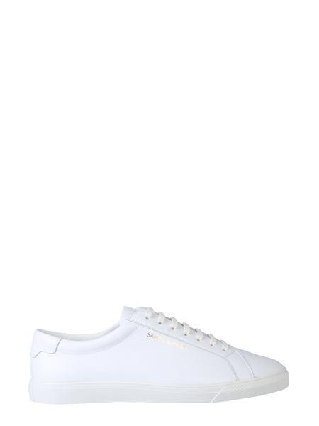 Saint Laurent - Sneaker Bassa Andy In Pelle