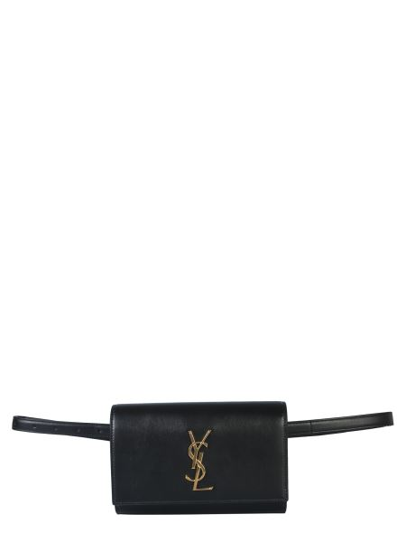 Saint Laurent - Kate Brushed Leather Pouch