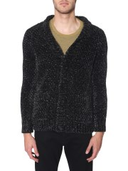 SAINT LAURENT - CARDIGAN LUNGO