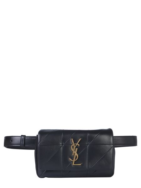 "Saint Laurent - ""carre Rive Gauche"" Jamie Patchwork Leather Pouch"