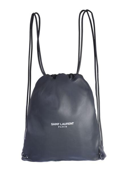 Saint Laurent - Teddy Leather Backpack