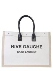 SAINT LAURENT - BORSA TOTE CON LOGO RIVE GAUCHE
