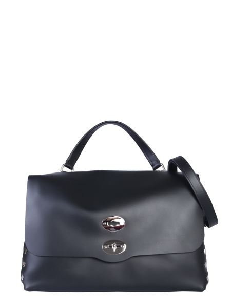 Zanellato Medium Postal Bag In Black