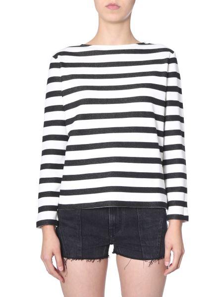 Saint Laurent - Cotton Stripes Sweatshirt