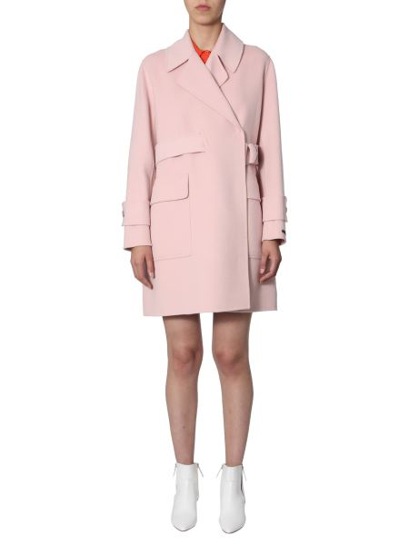 "Sportmax Code - ""gioire"" Hand-sewed Double Virgin Wool Coat"