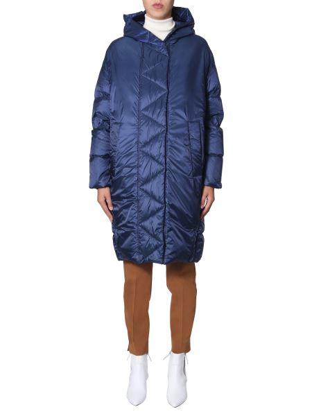 Sportmax Code - Long Hooded Down Jacket