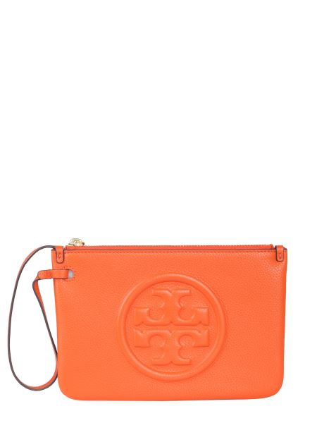 Tory Burch - Perry Bombe Leather Clutch