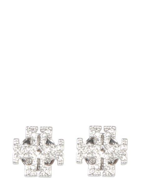 Tory Burch - Orecchini Crystal Logo