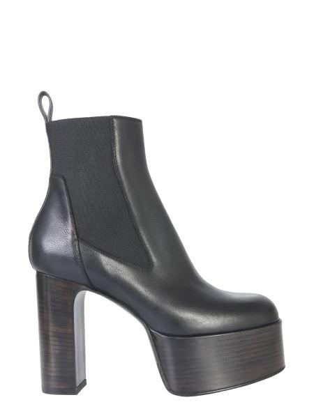 Rick Owens - Elastic Kiss Leather Boot