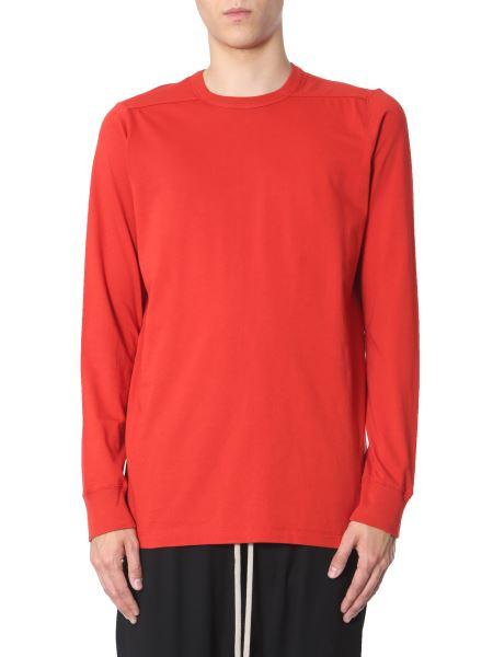 Rick Owens - T-shirt A Maniche Lunghe