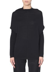 RICK OWENS - MAGLIA OVERSIZE FIT